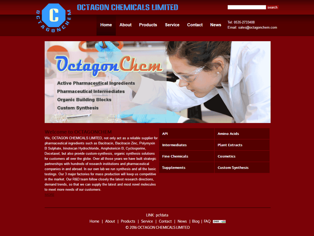 OCTAGON CHEMICALS LIMITED